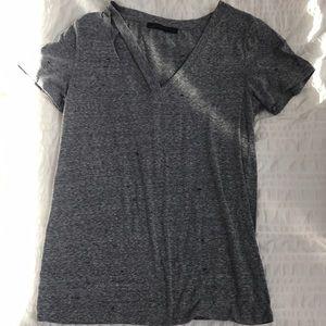 Cut up T-shirt